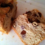 Brotzeit: Nussduett im Brotteig