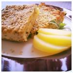 Partyklassiker fürs Buffet: Kartoffel-Schafskäse-Kuchen vom Blech