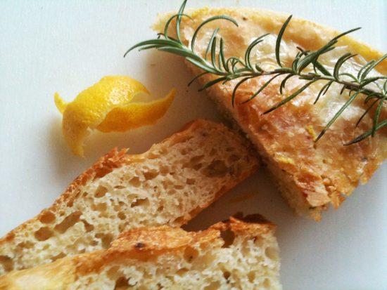 Zitronen Rosmarin Brot