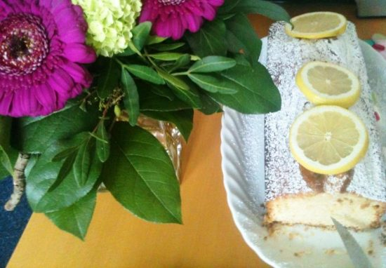 Veganer Zitronenkuchen