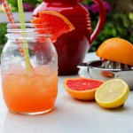 [Sommerdrink] Grapefruit-Limonade mit Minze
