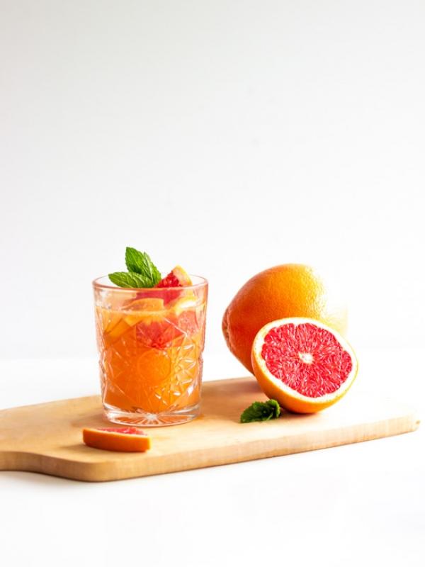 [Sommerdrink] Grapefruit-Limonade mit Minze