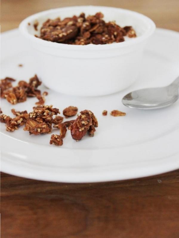 Weihnachtsknuspern: Zimt-Granola für's Familienfrühstück