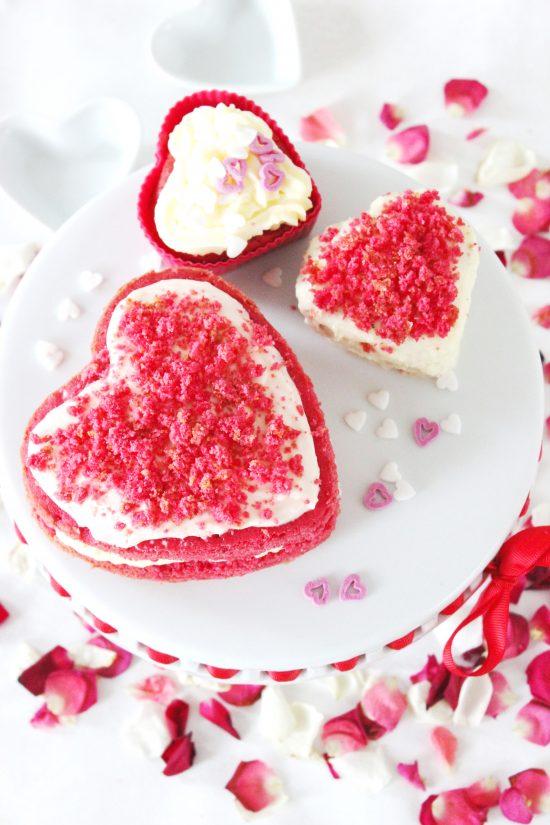 Pink Velvet Herzen