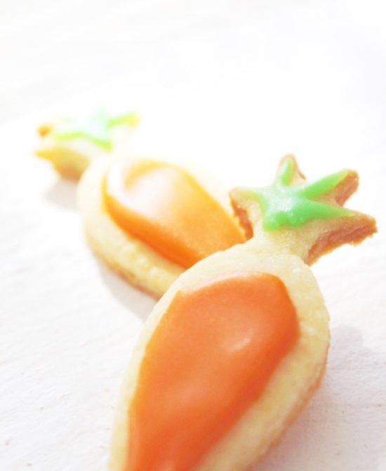 Kuechenkraenzchen Osterkekse Möhren
