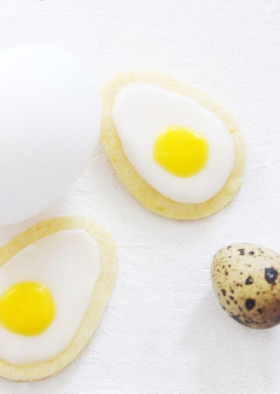 Kuechenkraenzchen Osterkekse Spiegelei