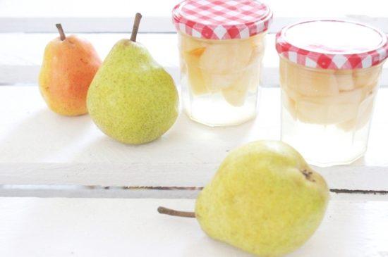 Eingekochte Birnen