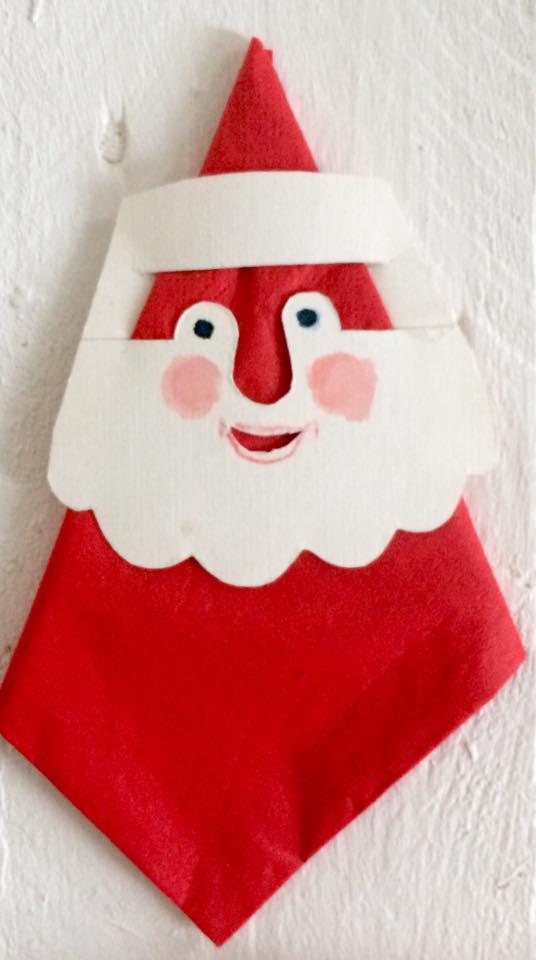 Weihnachtsmann_Serviette