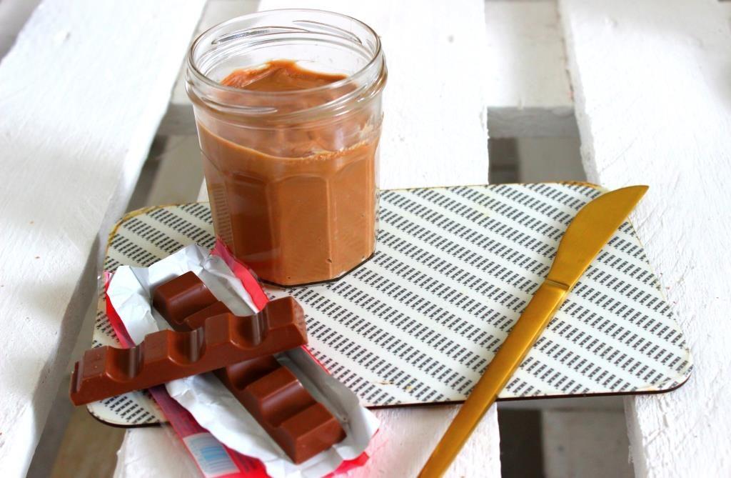 Kinderschokolade Aufstrich zum Brunch
