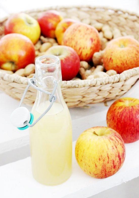 Apfel Holunder Limonade