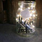 Upcycling mit Joghurt Gläsern: Das Erinnerungsglas
