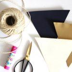 DIY Wimpel-Girlande für besondere Feste