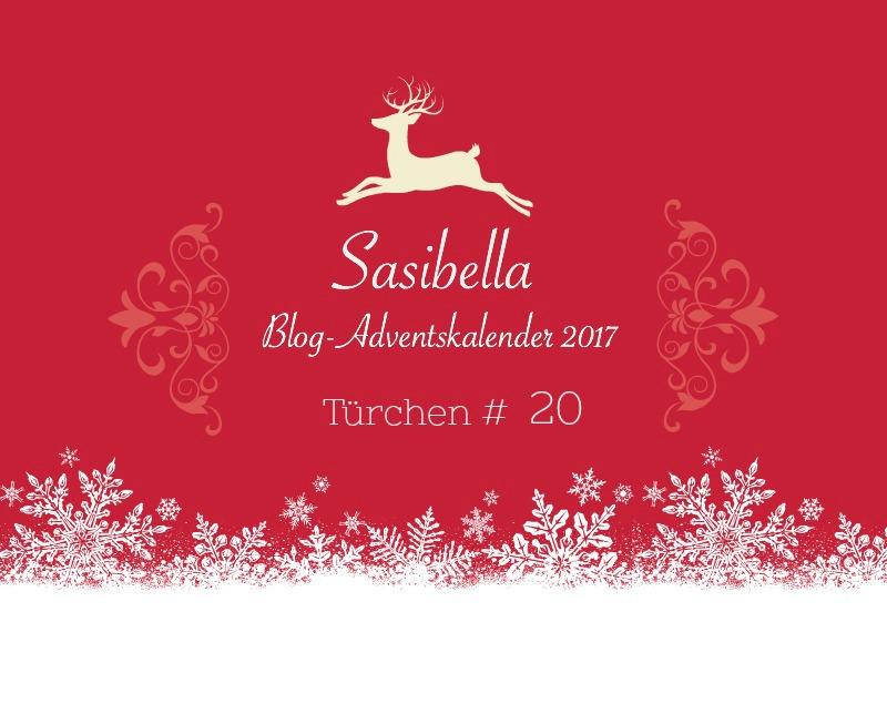 Adventskalender Sasibella Türchen 20
