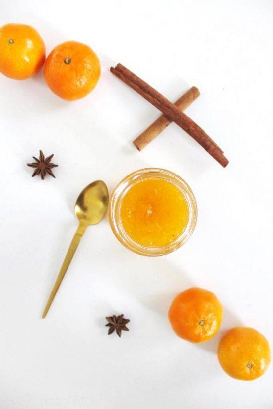 Mandarinen Gelee