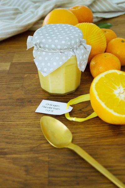 Küchenkränzchen Orangen Curd
