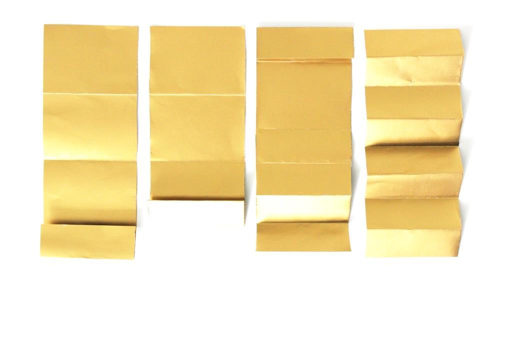 Kuechenkraenzchen Faltrosetten I Papierrosetten
