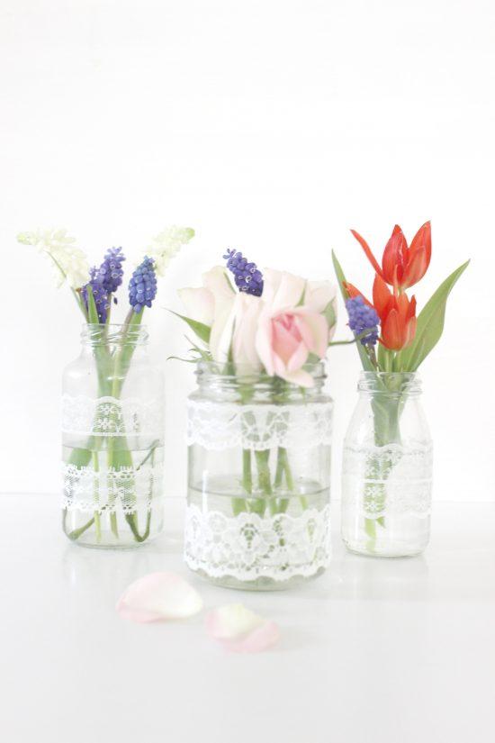 DIY Vase Spitze
