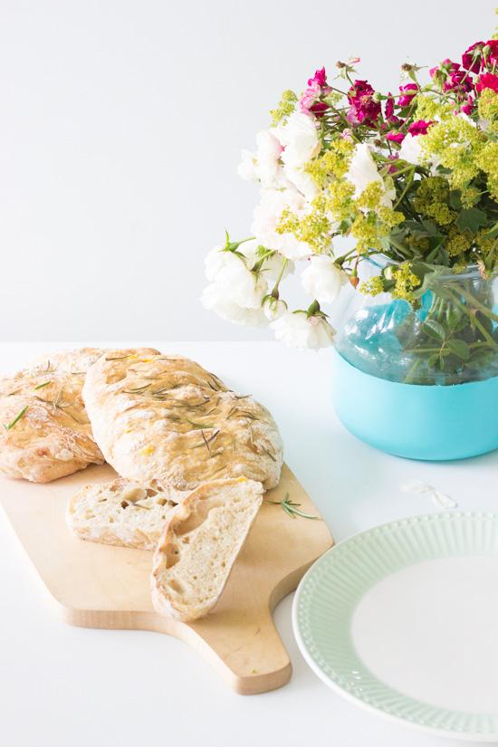 Küchenkränzchen Rosmarin-Kartoffelfladen