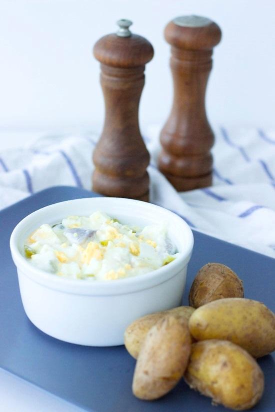 Küchenkränzchen Matjes Salat
