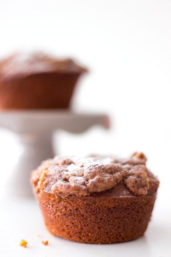 Kürbis Muffin mit Zimt Streuseln