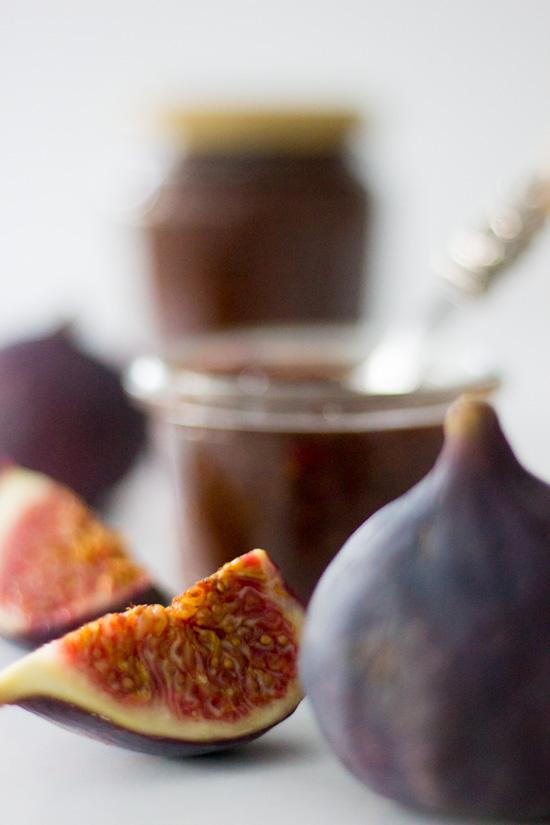Feigen Marmelade mit Rotwein