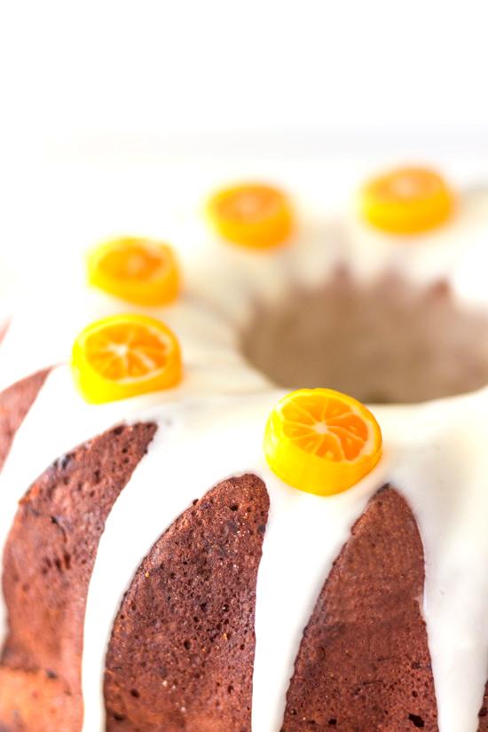 Orangen Gugelhupf