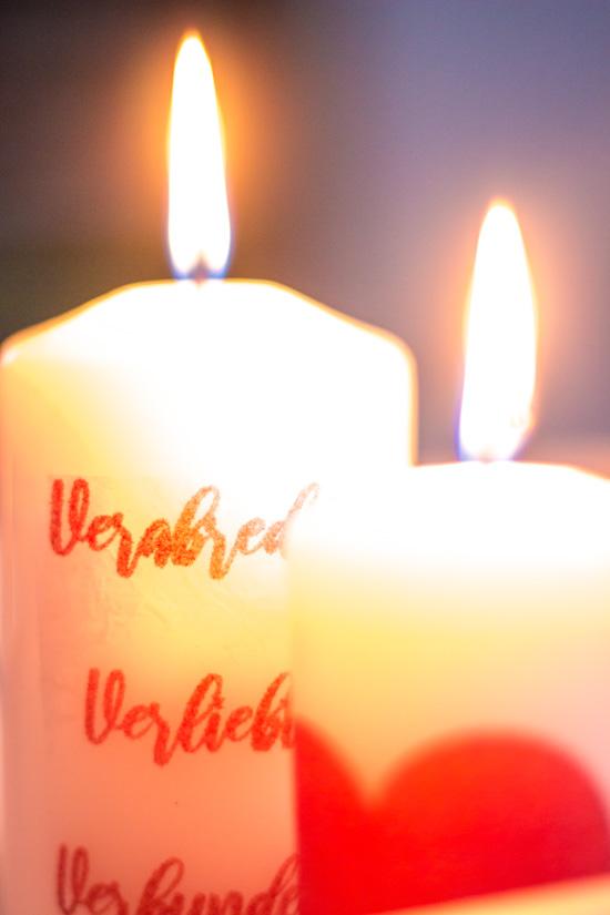 Fotokerze I Foto auf Kerze drucken