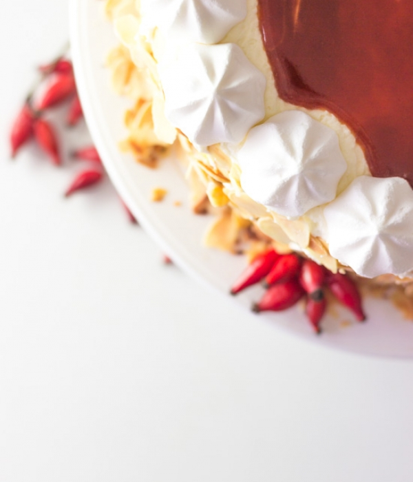 Hagebutten-Mohn-Torte
