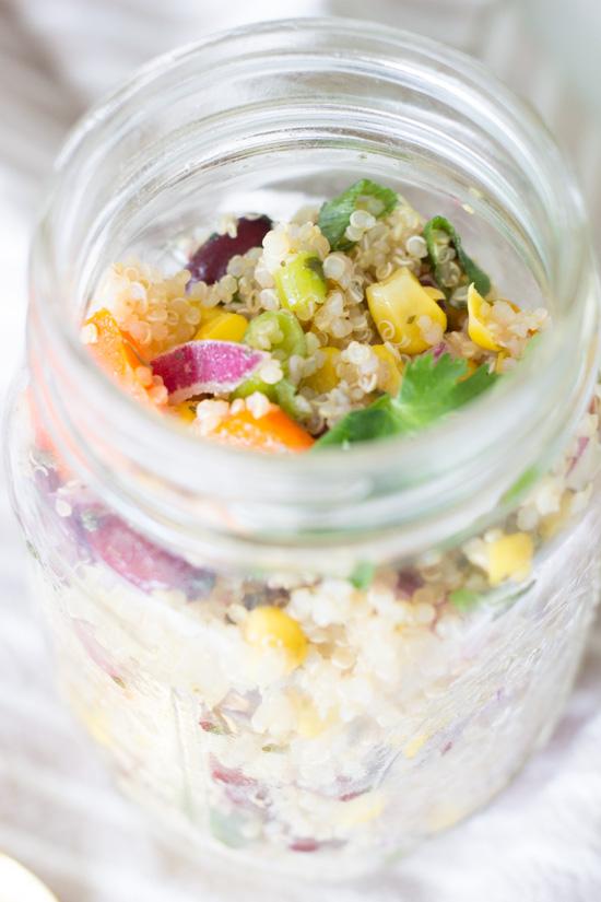 Quinoa Salat mexikanisch