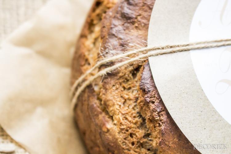 Geschenk zum Einzug I Brot und Printable