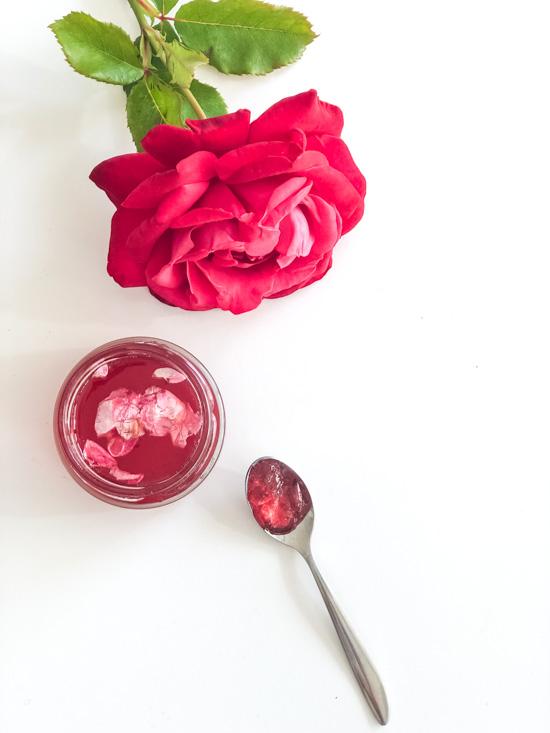 RosengRosenblütengelee  I Rosengeleeelee