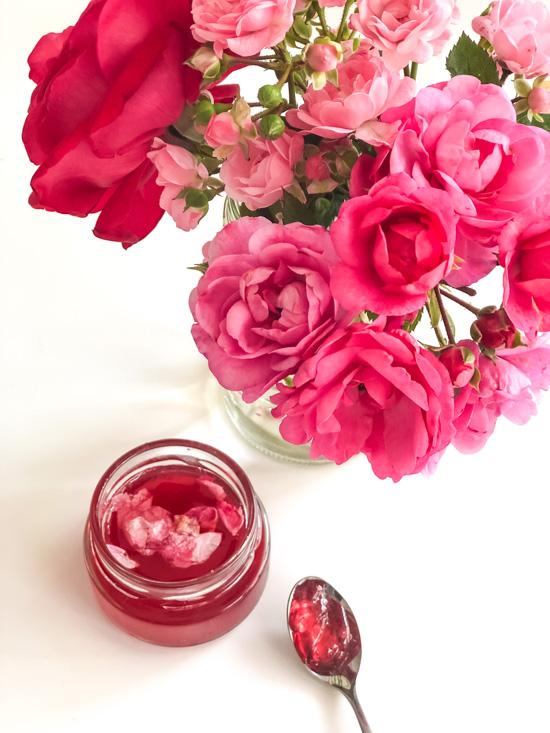 Rosenblütengelee  I Rosengelee